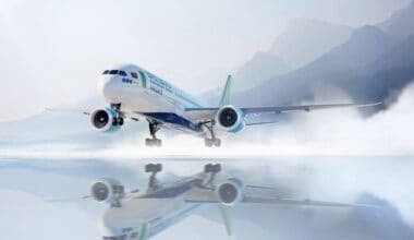 Bamboo Airways 787 inside