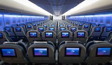 British Airways Word Traveler cabin