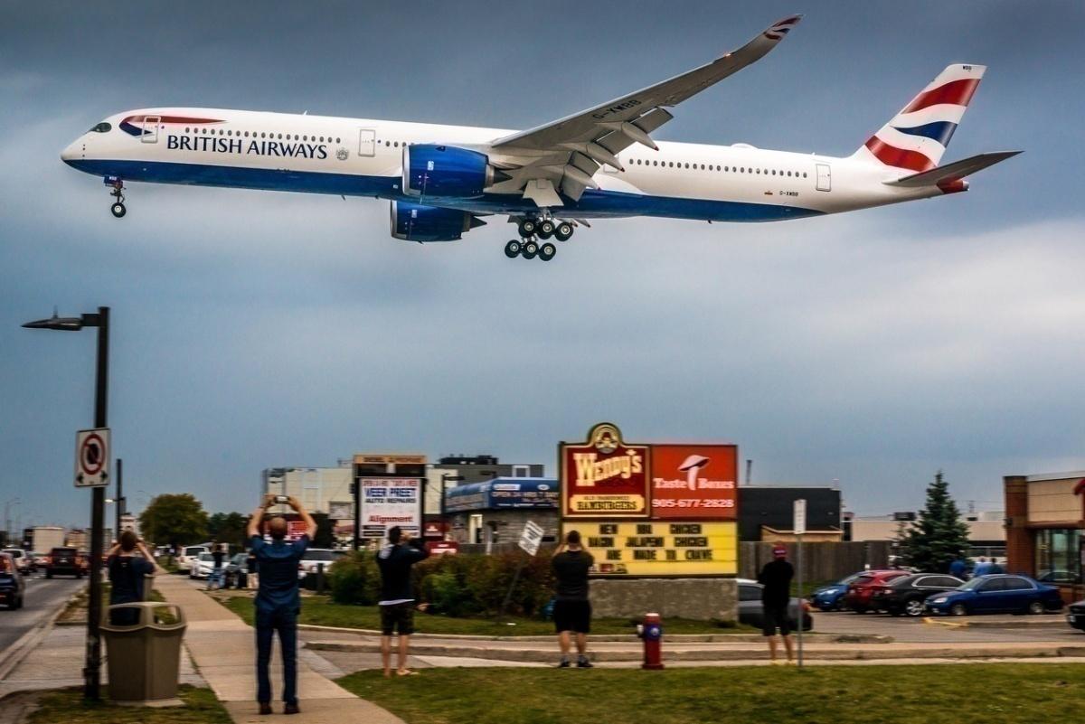 British Airways, Toronto, Lost Kindle