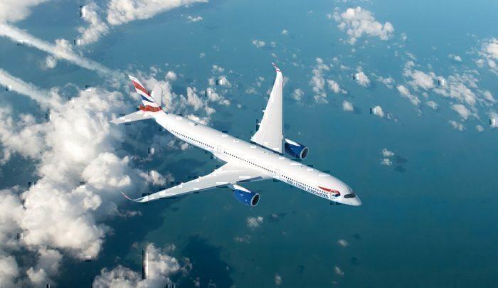 British Airways, Airbus A350, Hard Landing