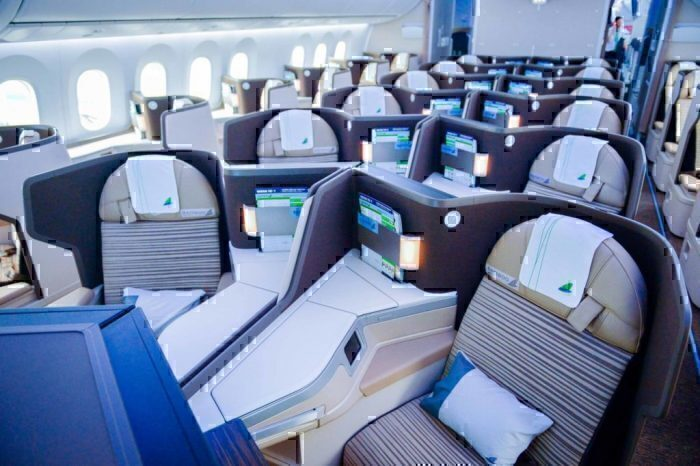 Bamboo Airways 787 business cabin