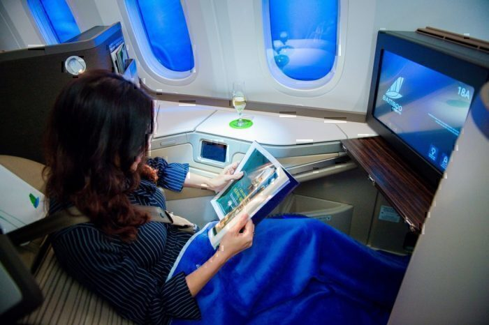 Bamboo Airways 787 business class seat