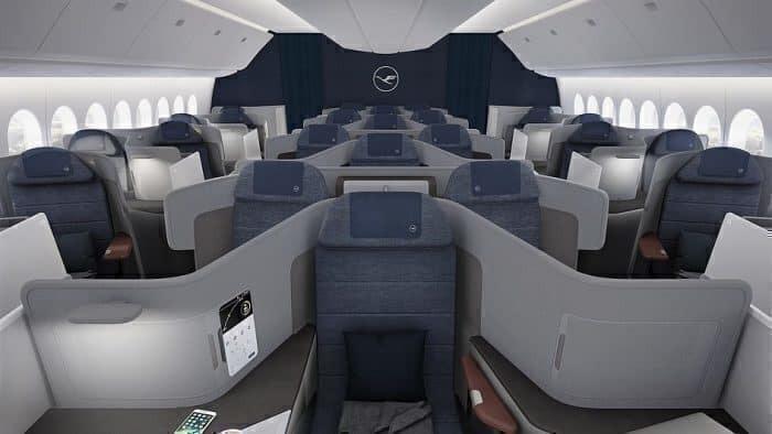 Lufthansa 777X Interior