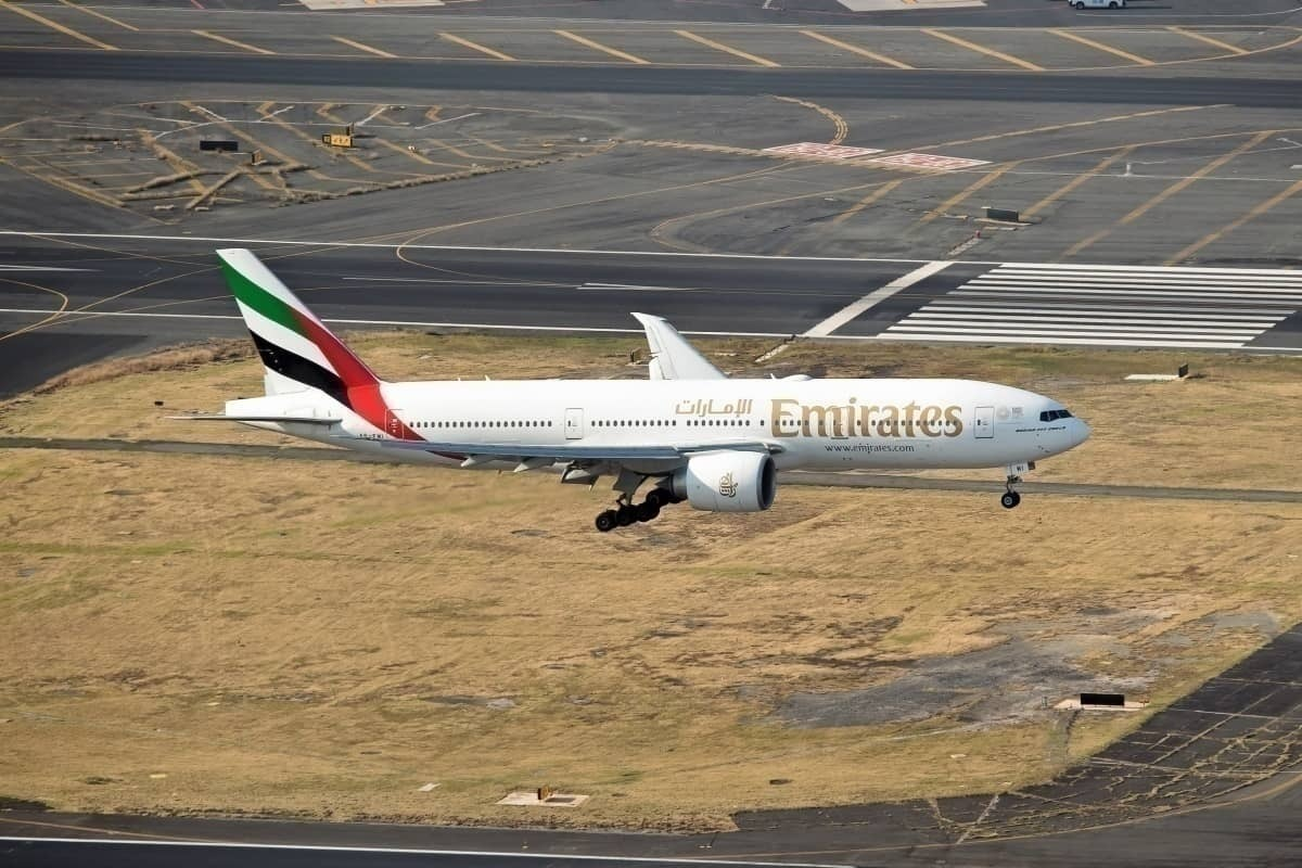 Emirates landing in Mexico