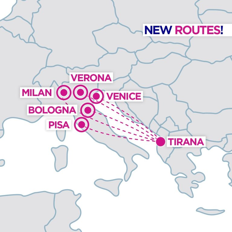 Wizz Air Eyes A Huge Albania Italy Expansion Simple Flying
