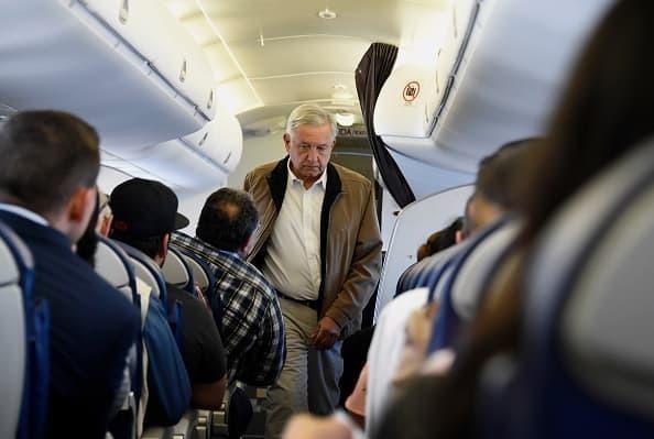 Mexico president obrador commercial plane