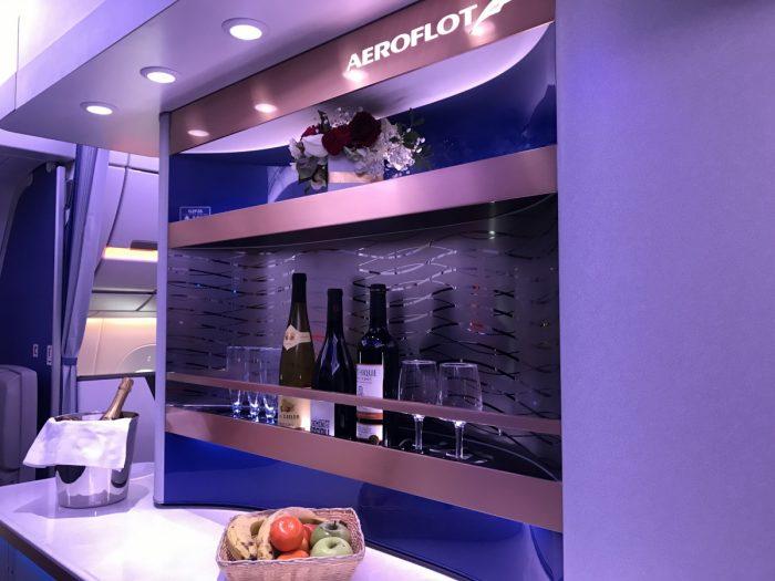 Aeroflot, Airbus A350, Interior