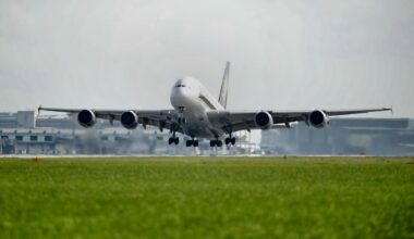 Singapore Airlines A380 Aircraft