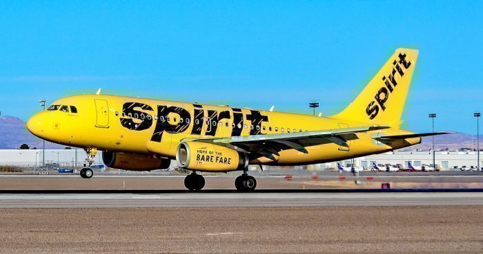 Spirit Airlines aircraft