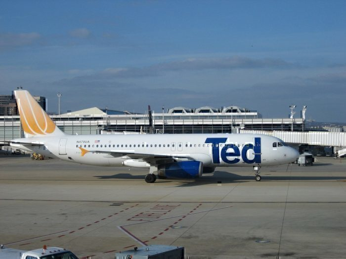 Ted, A320 taxi