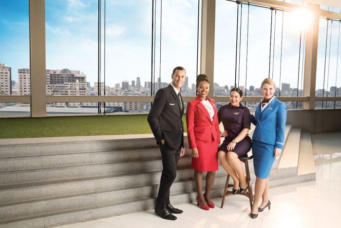 Virgin, Delta, AirFrance, KLM Crew