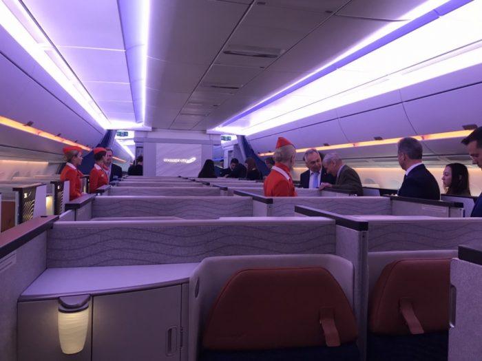Airbus A350 - Aeroflot Business Class