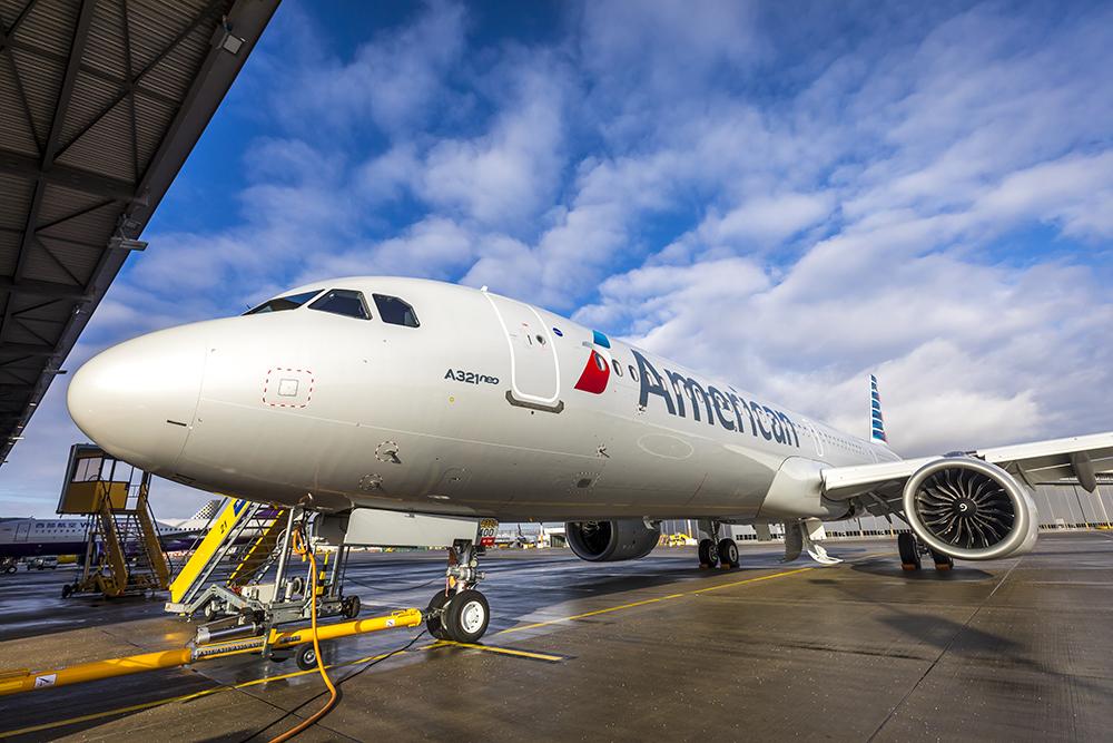 American new plane A321neo
