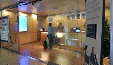 Swissport Horizons Lounge Geneva review