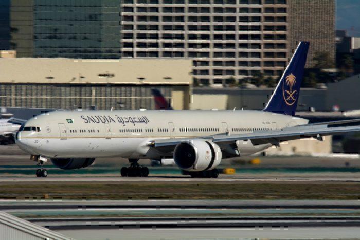Saudia aircraft