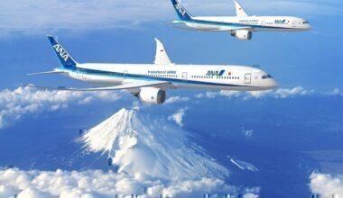 ANA 787-9 and 787-10