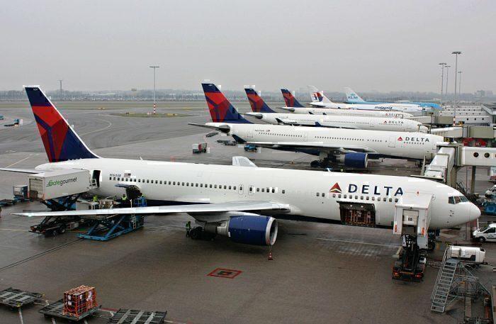 Delta Air Lines gate
