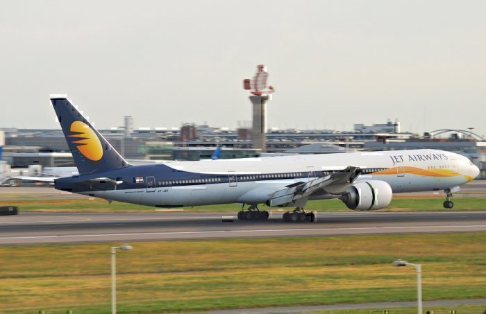 Jet Airways Heathrow 777