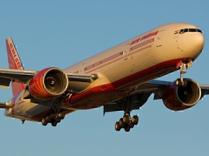 An Air India 777-300ER, the plane set to become the next Air India One