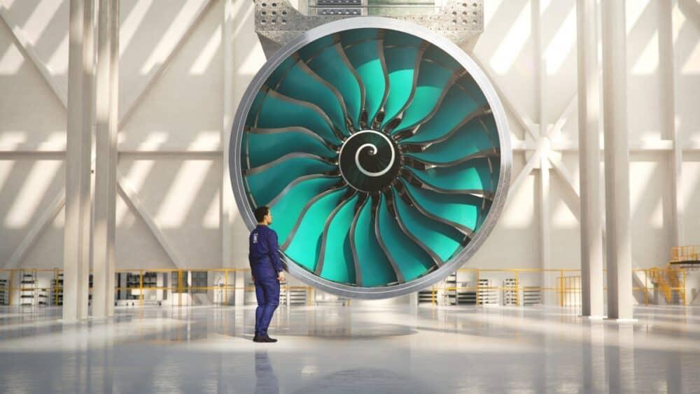 Rolls Royce, UltraFan, construction