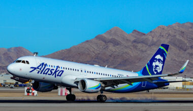 Airbus A320 Alaska Airlines