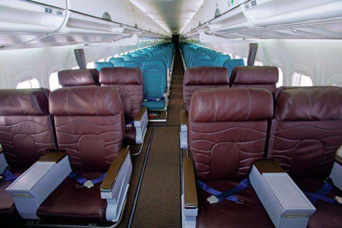 Hawaiian Airlines B717 Aircraft Interior