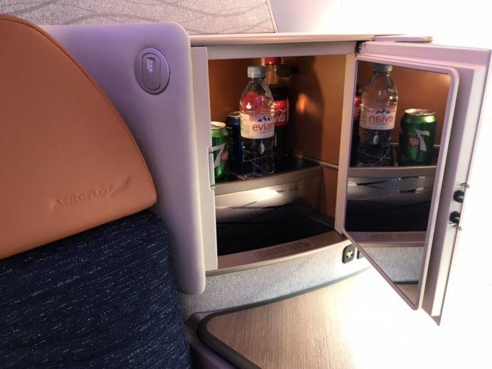 Aeroflot A350 Drinks