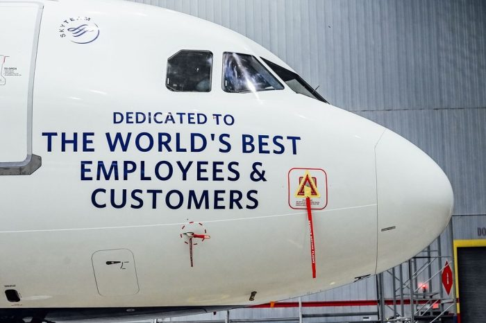 Delta message A321