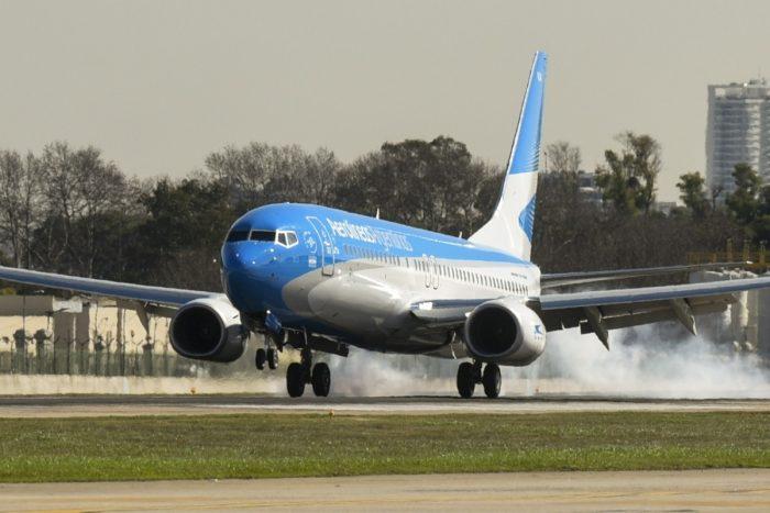 Argentina Aerolineas Aircraft