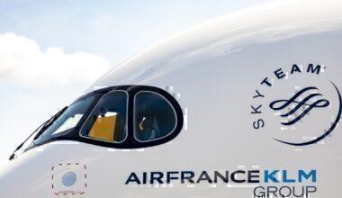 Air France, KLM, China