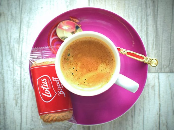 Biscoff and coffee