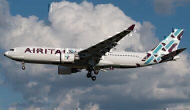Air Italy Airbus A330-200 EI-GFX