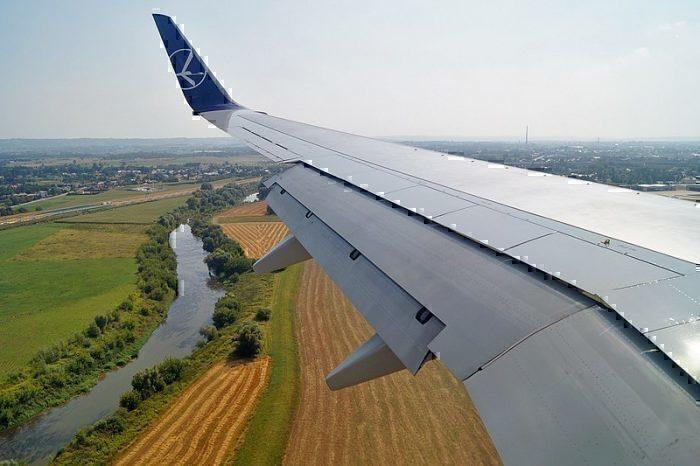 LOT Polish wing tip