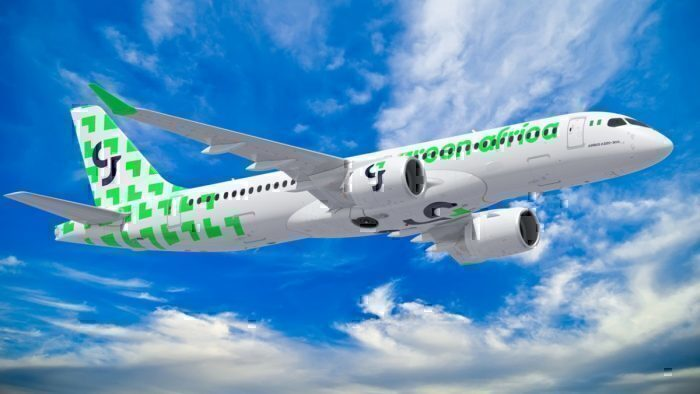 green africa plane