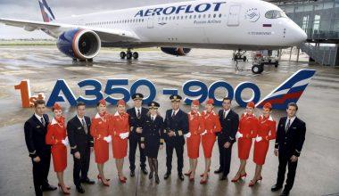 A350-900 Aeroflot Delivery