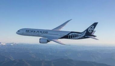 Air New Zealand 787 Aircraft