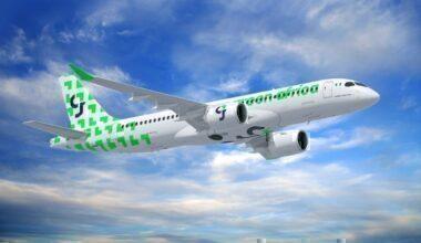 A220 300 Green Africa Airways