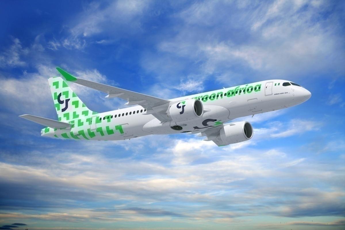 Resultado de imagen para Green Africa Airways A220