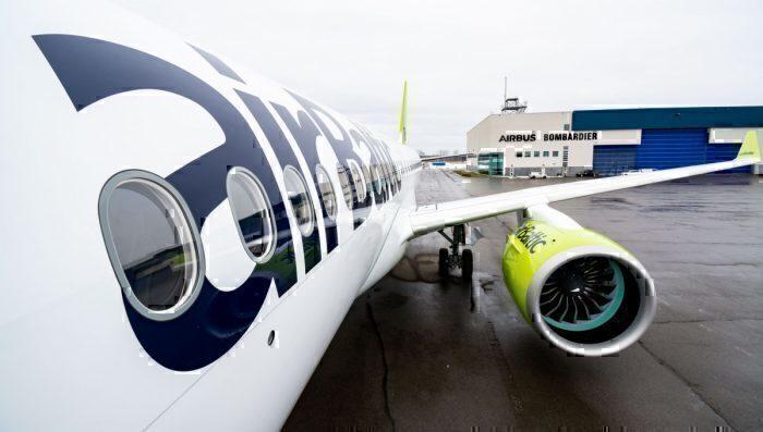 airBaltic, Airbus A220, Engine Shutdown