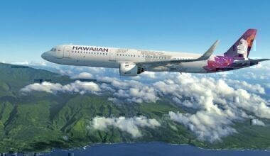 Hawaiian Airlines, Frontier Airlines, Punctuality