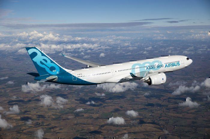 A330-800 inflight