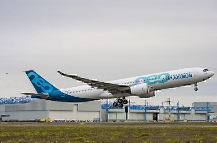A330neo maiden flight