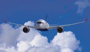 Aeroflot, Airbus A350, First Flight