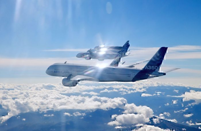 A350 formation