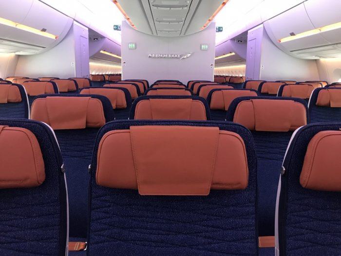 Aeroflot A350 Seats