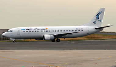 Air Mediterranean Boeing 737 SX