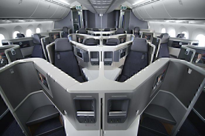 AA 787 cabin