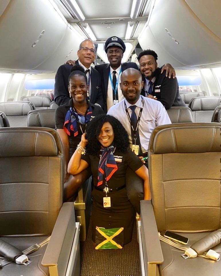 American Airlines all-jamaican