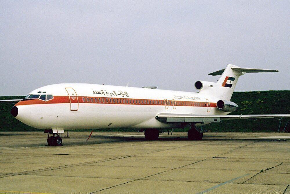 UAE Government Boeing 727
