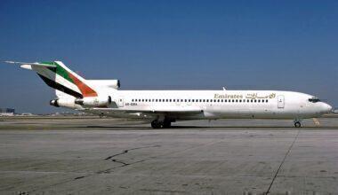 Emirates Boeing 727